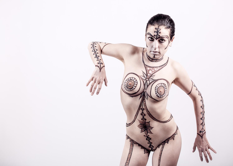 Bodypainting et photographie