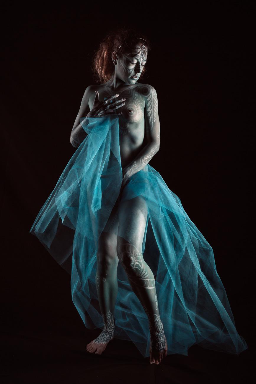 bodypainting en studio
