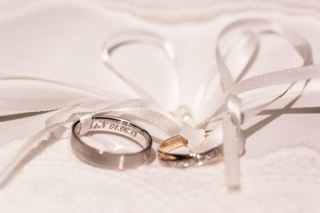 photo d'alliances mariage