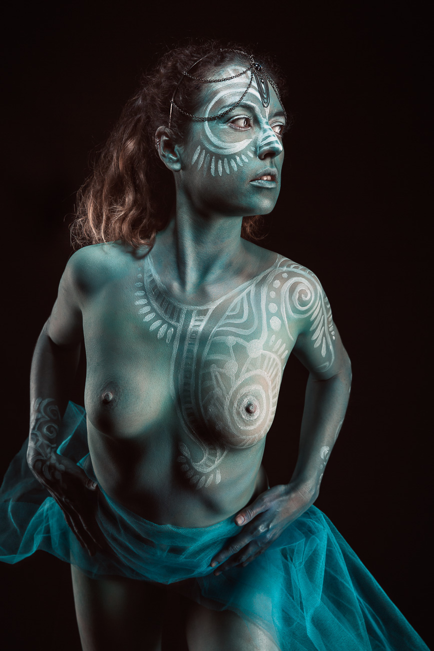 bodypainting et photo studio