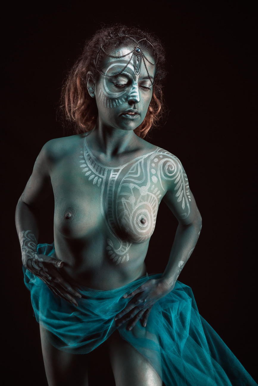 Realisation projet bodypainting