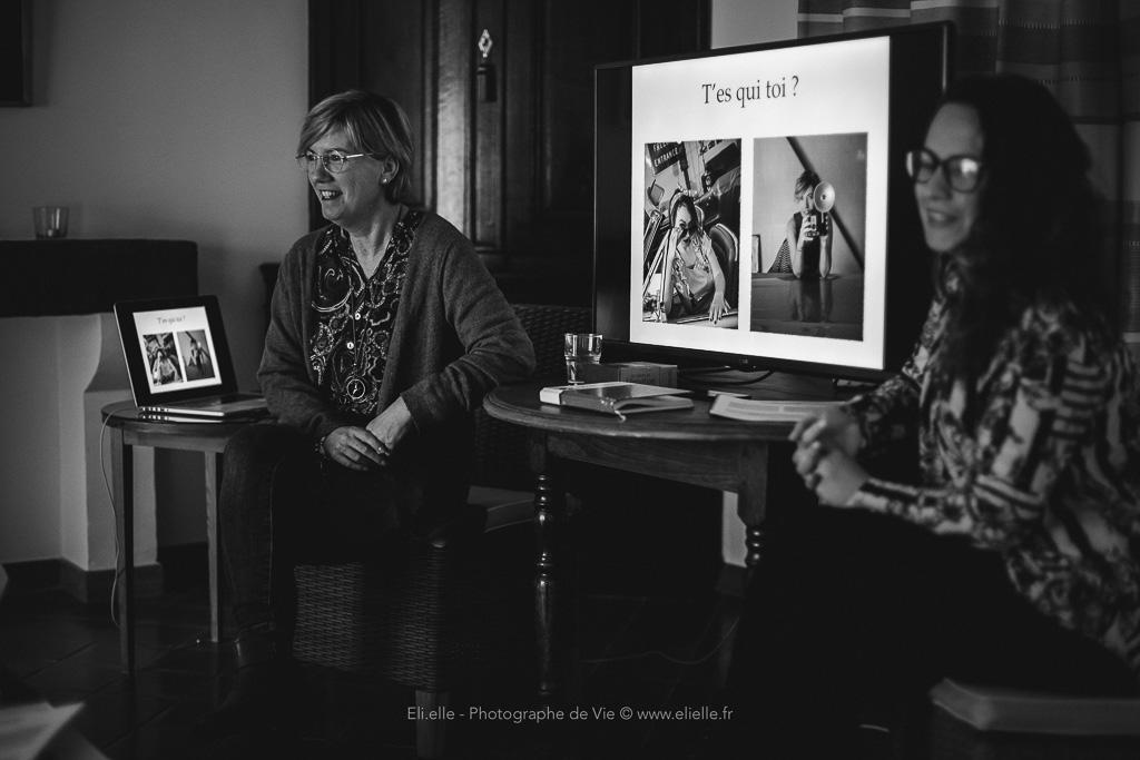 Les formatrices de la formation à la photographie thérapeutique