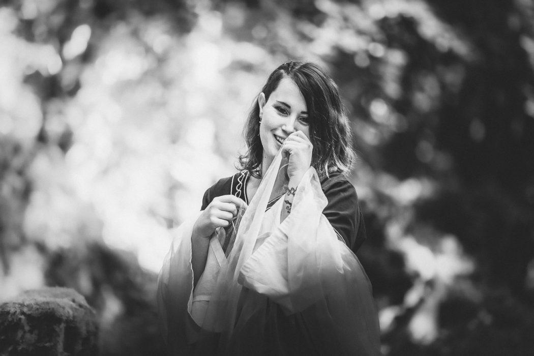 Séance de photographie thérapeutique pour la femme